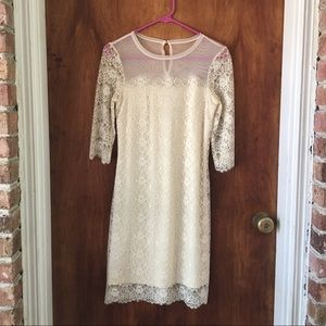 Max and Cleo Lace Dress